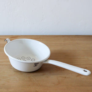 Sieve with Handle White 18cm