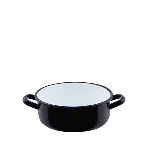 Classic Casserole with Cover Black 0.75 Litre