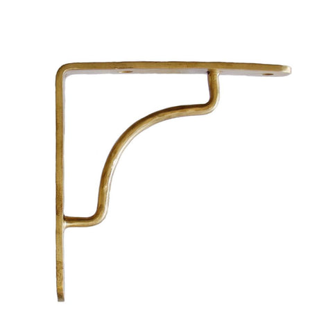 Panhandler Bracket Brass