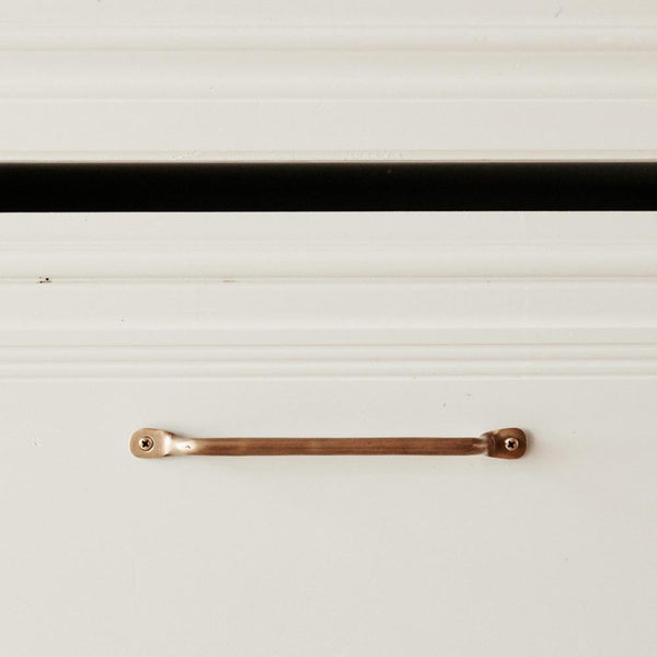 Yar Drawer Pull Antiqued Brass