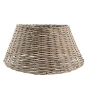 willow Christmas tree ring - dia70x28cm - grey washed