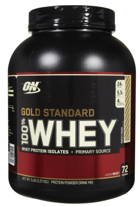 Optimum Nutrition Gold Standard 100% Whey - Rocky Road (2.27kg)