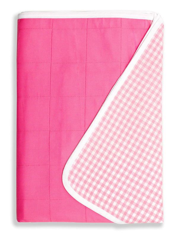 Brolly Sheets King Single Size Sheet Bed Pad - Pink