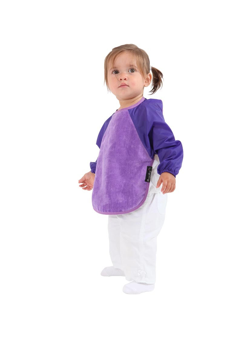 Mum 2 Mum Sleeved Wonder Bib (6-18 Months) - Purple