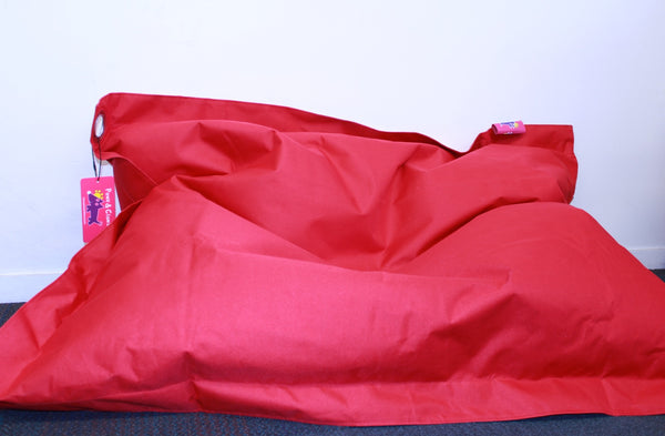 Pawz N Clawz: Large Red Pet Bean Bag (97x122cm)