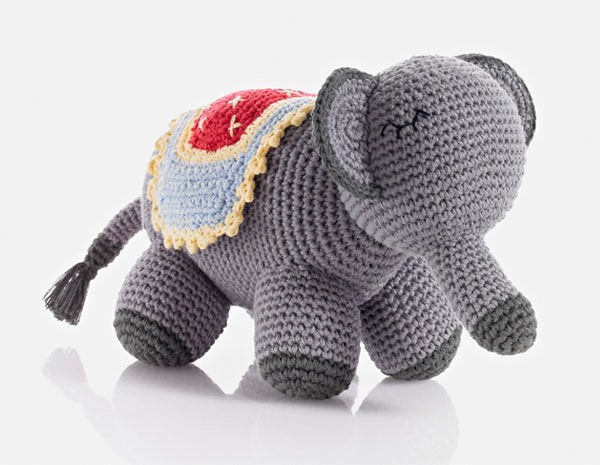 Pebble Crochet Elephant Doll
