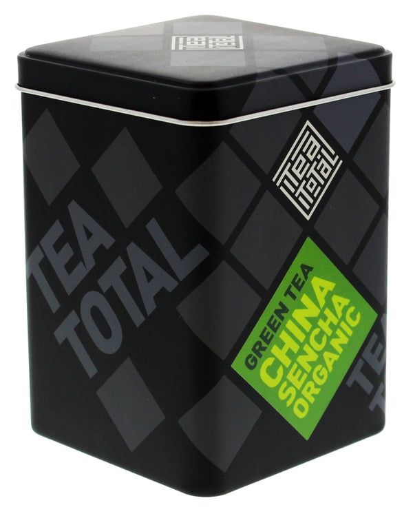 Tea Total - Chinese Sencha Organic Green Tea (100g Tin)