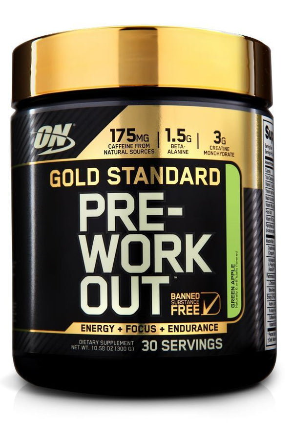 Optimum Nutrition Gold Standard Pre-Workout - Green Apple (300g - 30 Serves)