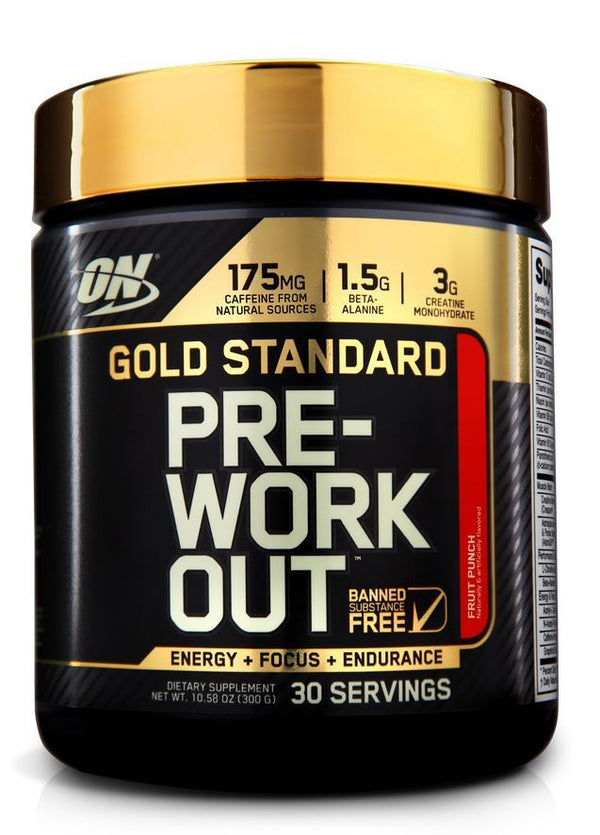 Optimum Nutrition Gold Standard Pre-Workout - Fruit Punch (300g)
