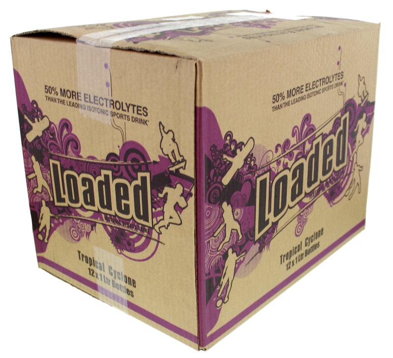 Loaded Sports Drink - Tropical Cyclone 1L (12 Pack)