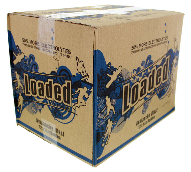 Loaded Sports Drink - Avalanche Blast 1L (12 Pack)