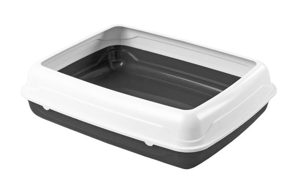 Kitty Litter Tray with Rim (Small)