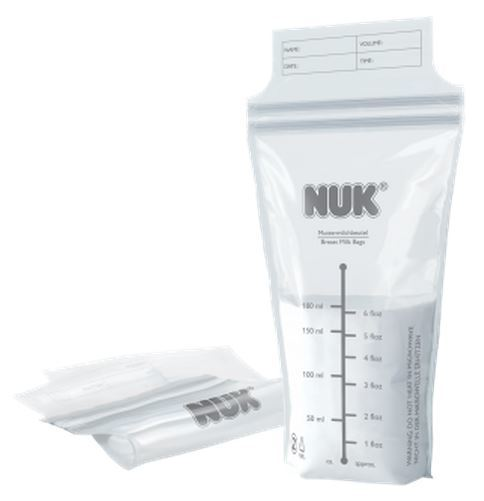 NUK: Breast Milk Bags (25 Pack)