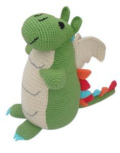 Pebble Green Dragon Doll