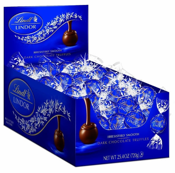 Lindt Lindor Dark Chocolate Truffles (60 Pieces)