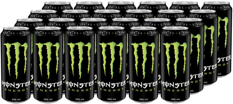 Monster Energy Drink 500ml (24 Pack)