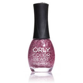 Orly Color Blast Chunky Glitter Nail Color - Cool Pink (11ml)