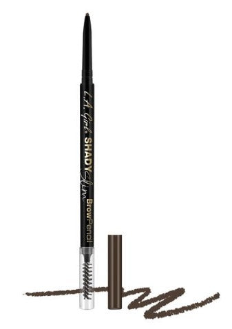 LA Girl Shady Slim Brow Pencil - Brunette