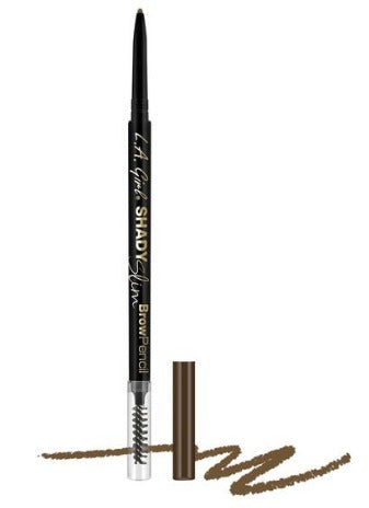 LA Girl Shady Slim Brow Pencil - Warm Brown