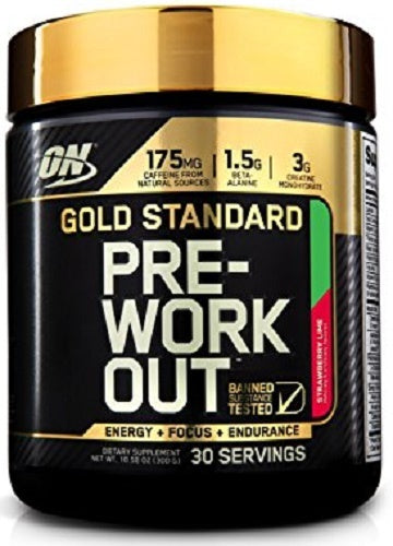 Optimum Nutrition Gold Standard Pre-Workout - Strawberry Lime (300g)