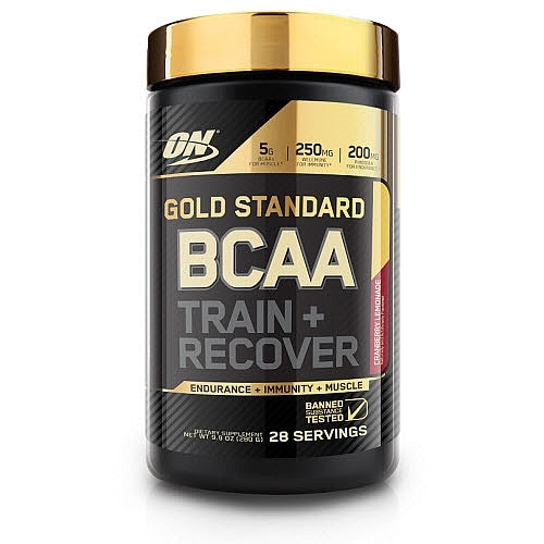 Optimum Nutrition Gold Standard BCAA Train + Recover - Cranberry Lemonade (280g)