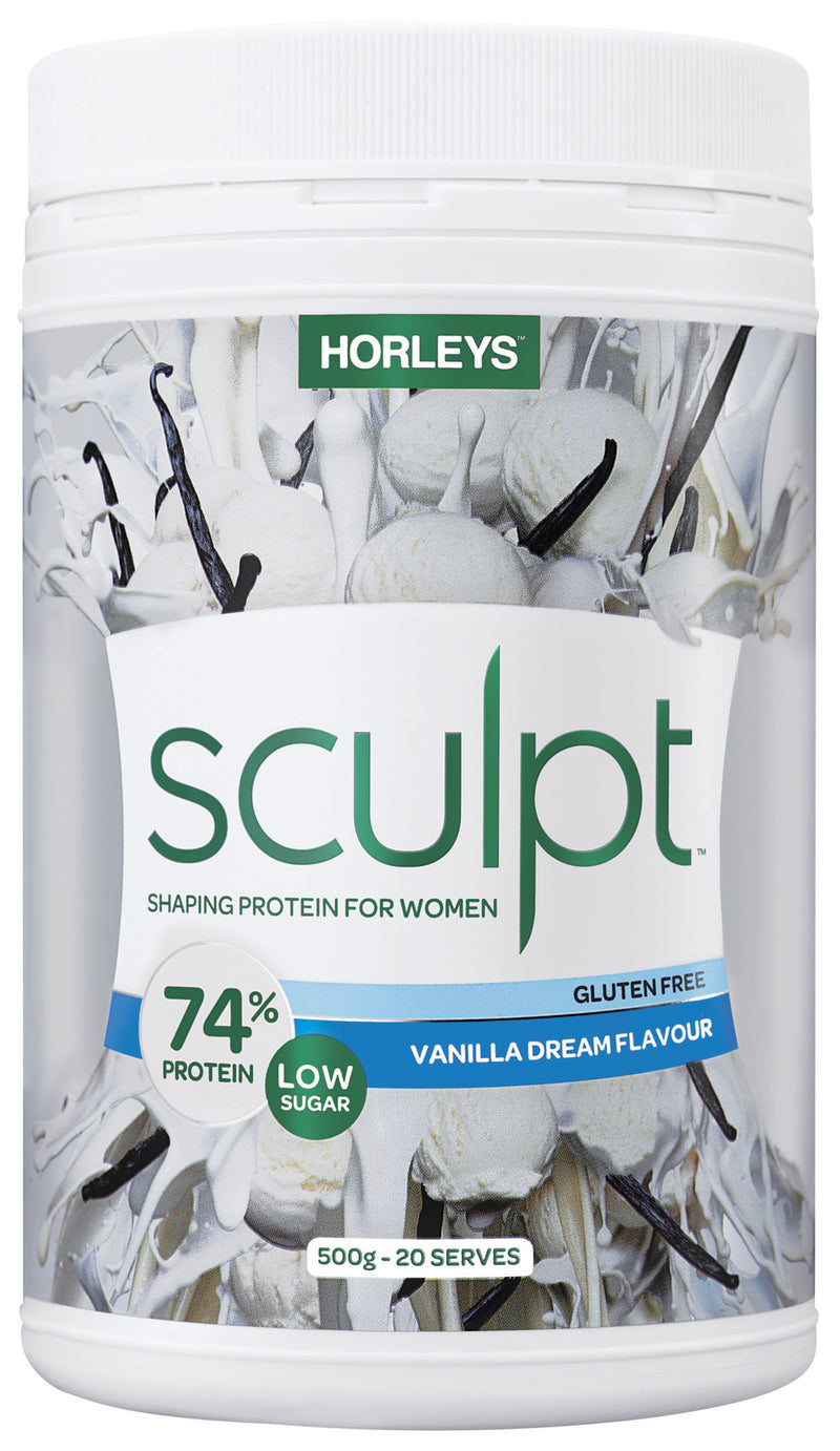 Horleys Sculpt Protein Powder - Vanilla Dream (500g)