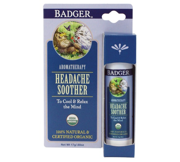 Badger Headache Soother Balm (17g)