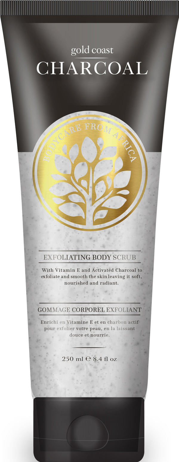 Gold Coast Charcoal Exfoliating Body Scrub (250ml)