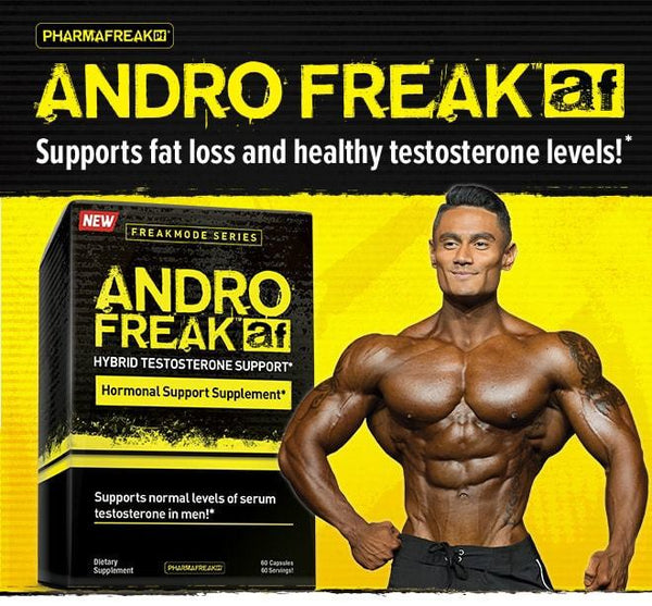 Pharma Freak: Andro Freak Testosterone Support (60 Caps)