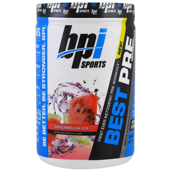 BPI Sports Keto Best Pre-Workout - Watermelon (30 Serve)