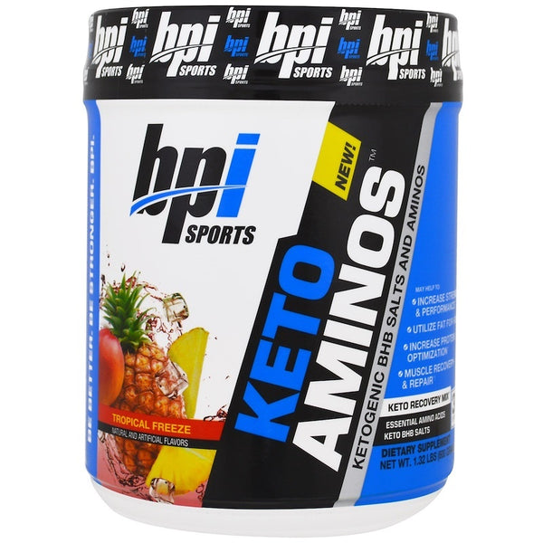 BPI Sports Keto Aminos - Tropical Freeze (30 Serve)