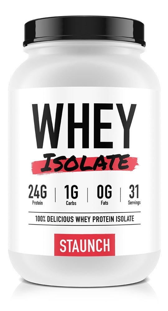 Staunch Nutrition Whey Isolate - Hot Chokkie (1.08Kg)