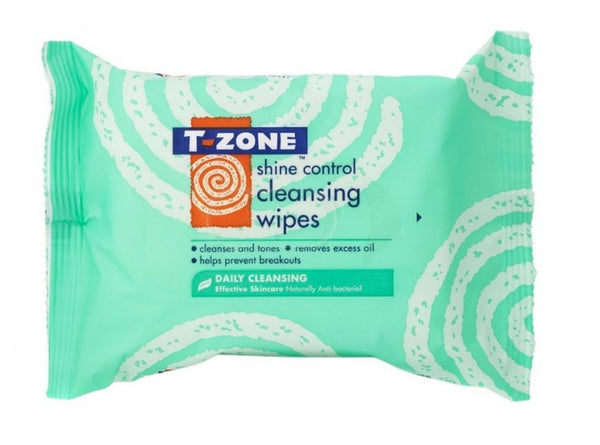 T-Zone Shine Control Cleansing Wipes