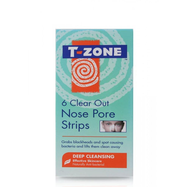 T-Zone Clear Out Nose Pore Strips (6 Strips)
