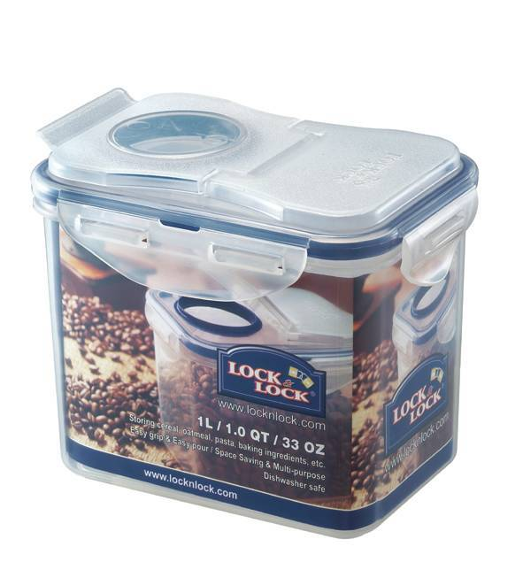 Lock & Lock Rectangle Tall Container w/Flip Lid - 1L