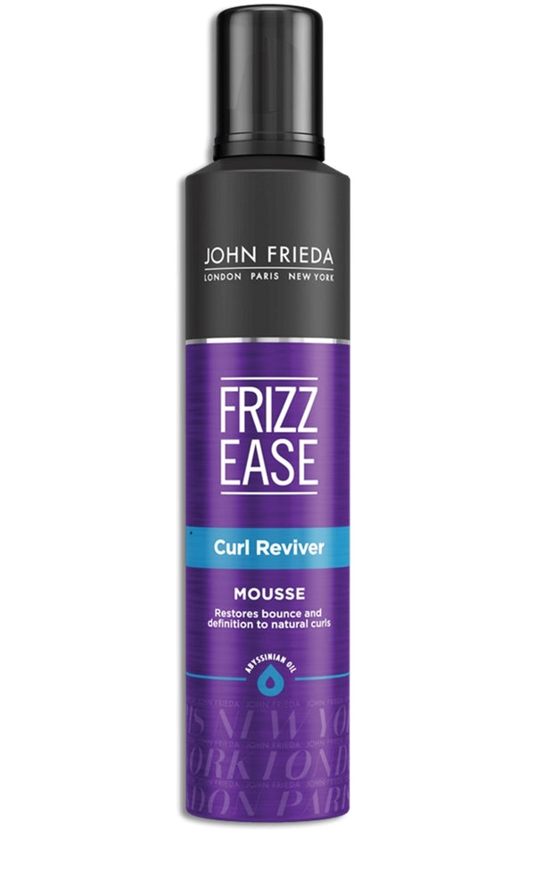 John Frieda Frizz Ease Curl Reviver Styling Mousse (204g)