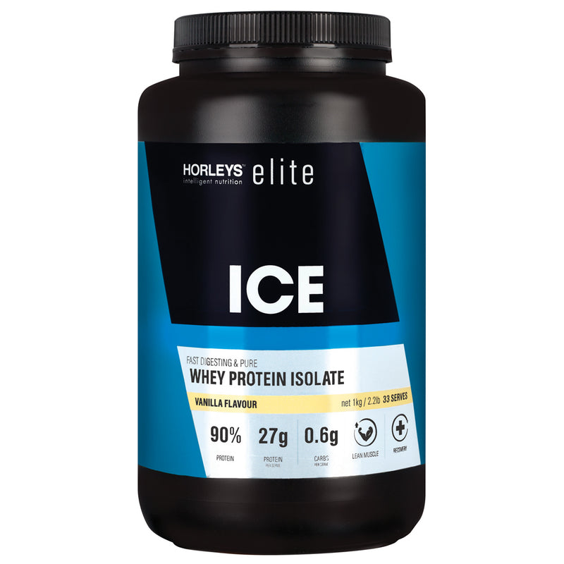 Horleys ICE Whey Protein Isolate - Vanilla (1kg)