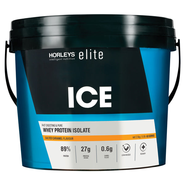Horleys ICE Whey Protein Isolate - Salted Caramel (2.5kg)