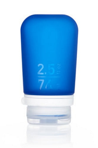 GoToob+ Blue Silicone Travel Bottle - Small (53ml)