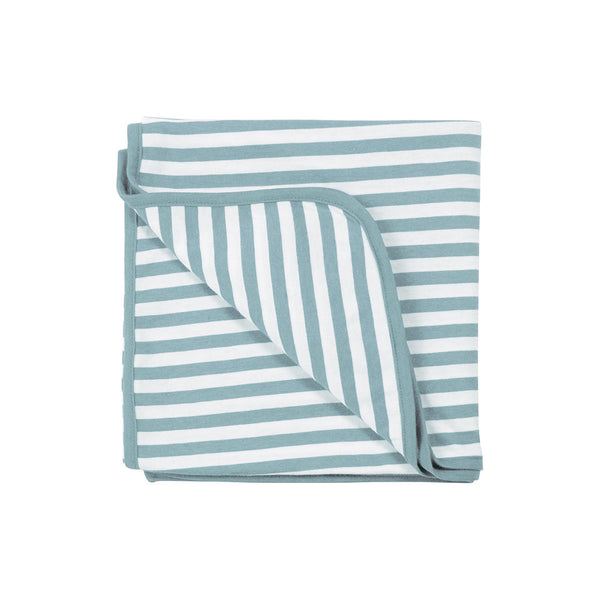 Woolbabe: Merino/Organic Cotton Swaddle/Blanket - Tide