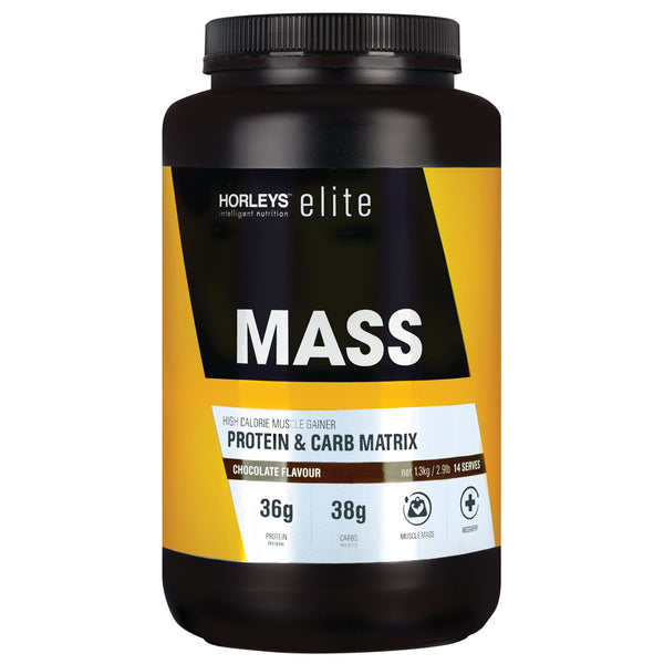 Horleys MASS Protein Powder - Chocolate (1.3kg)