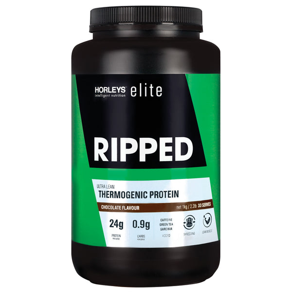 Horleys Ripped Thermogenic Protein - Chocolate (1kg)