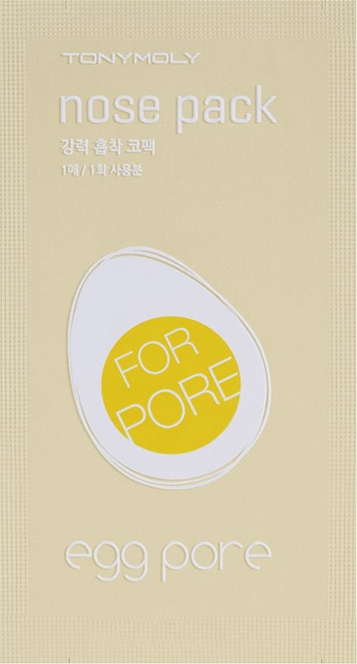 Tony Moly: Egg Pore Nose Pack Package (7 Sheet)