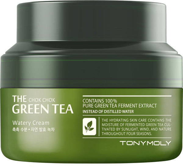 Tony Moly: The Chok Chok Green Tea - Watery Cream 60mL