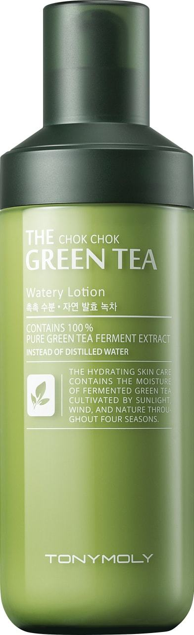 Tony Moly: The Chok Chok Green Tea - Watery Lotion
