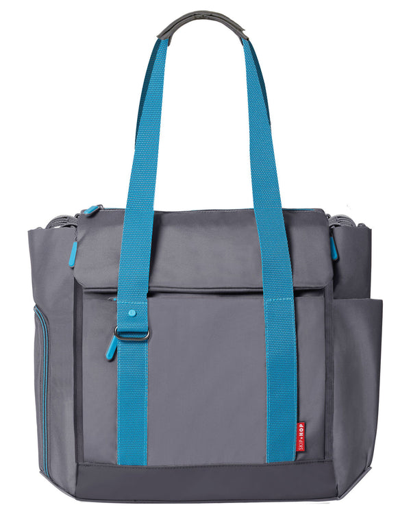 Skip Hop: Fit All Access Nappy Bag - Graphite/Aqua