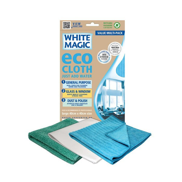 White Magic Household Value Pack Eco Cloth