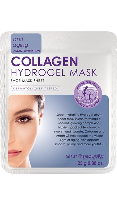 The Skin Republic: Collagen Hydrogel Face Sheet Mask