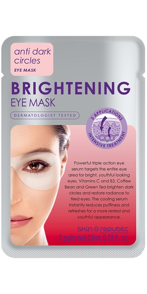 The Skin Republic: Brightening Eye Sheet Mask