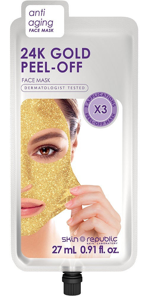 The Skin Republic: Gold Peel-Off Mask